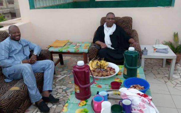 Rupture du Ramadan offerte par Mme Keïta Mamy Sidibé